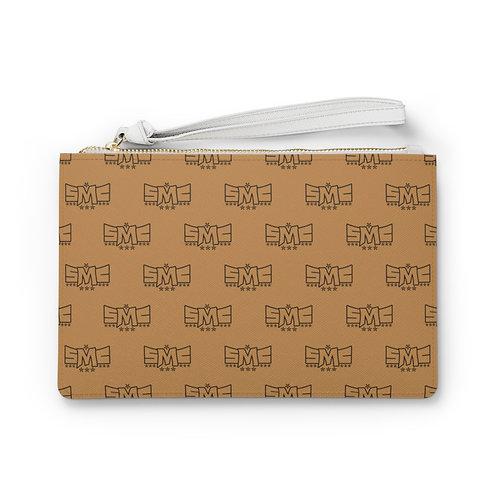 SMC Tan Clutch Bag