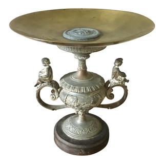 19th Century Grand Tour Brass Tazza