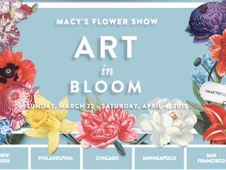 Art in Bloom-Macy's Flower Show 2015