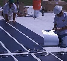 Solarfolie Montage