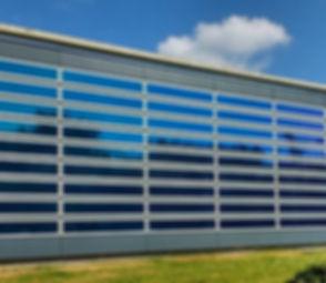 Fassade folieren mit einer Solarfolie