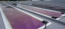 Logistikhallen mit Solarfolie