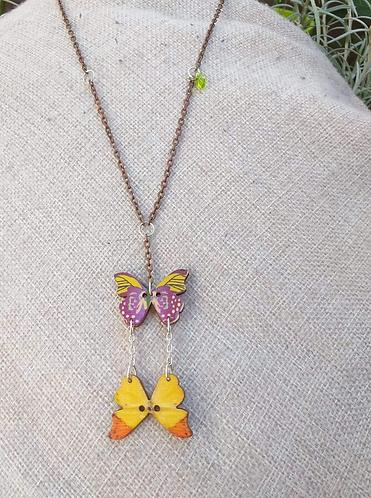 Pendentif papillons