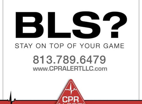 BLS training: available every weekend