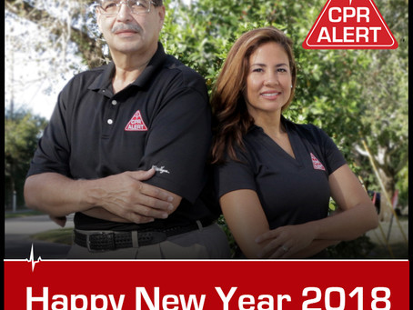 NEW YEAR'S RESOLUTION... LEARN CPR!