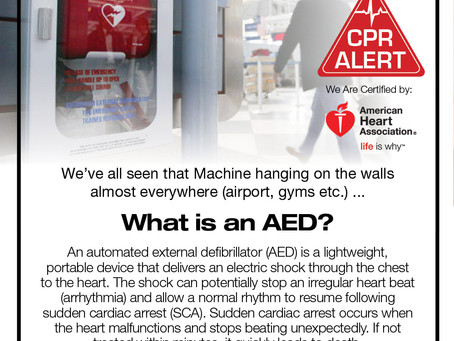 What is an AED?