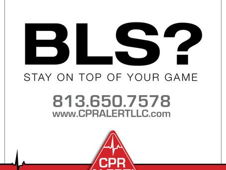 Upcoming BLS Training Monday Aug 13th at 10 am