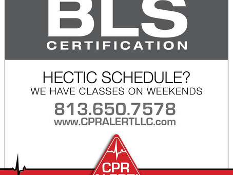 CPR/BLS Training on Weekends
