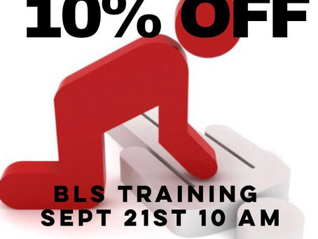 10% OFF - Next BLS Training