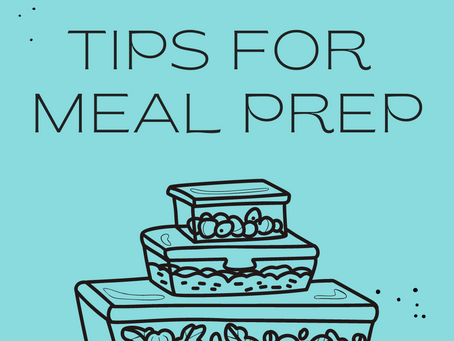 10 TIPS FOR MEAL PREP