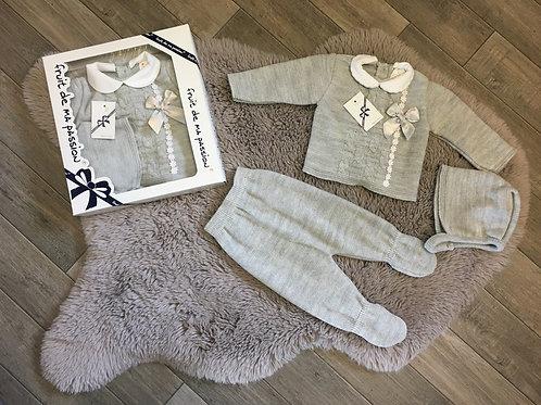 Baby Spanish gift set grey
