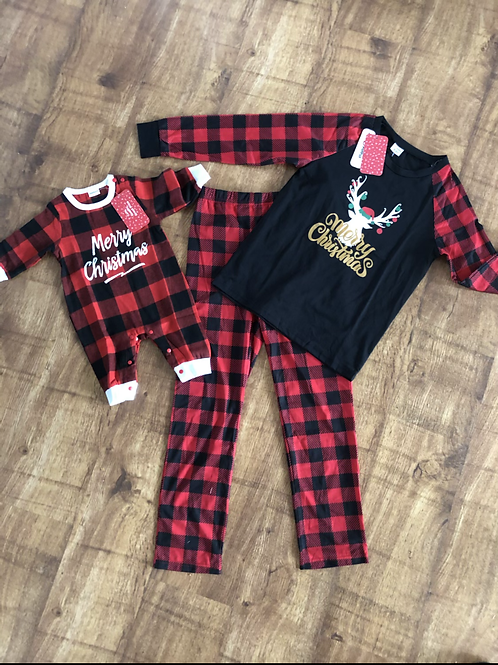 Baby Christmas jumpsuit