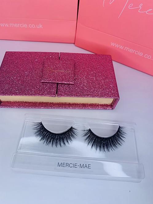 Mercie X 3D faux mink vegan lashes- M-M