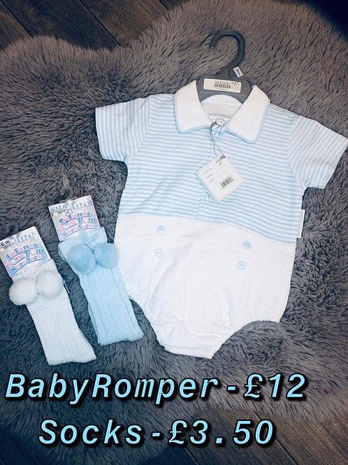 Baby boy romper