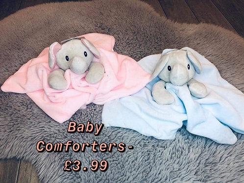 Baby elephant comforter