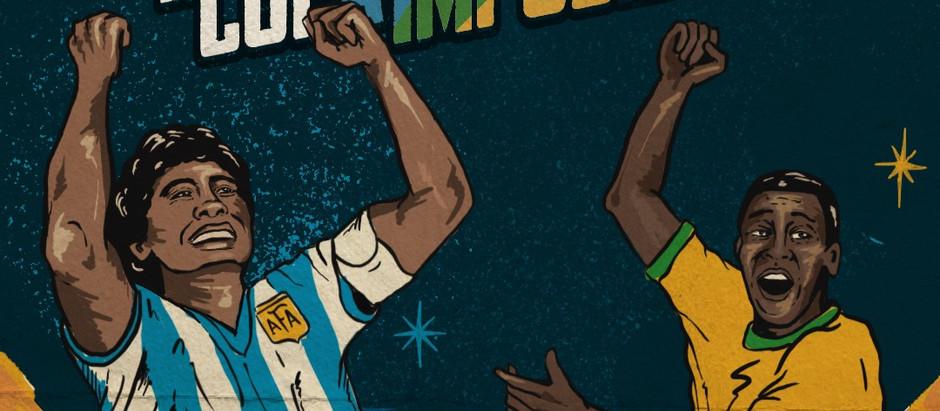 AMISTOSO: ARGENTINA '86 v BRASIL '70