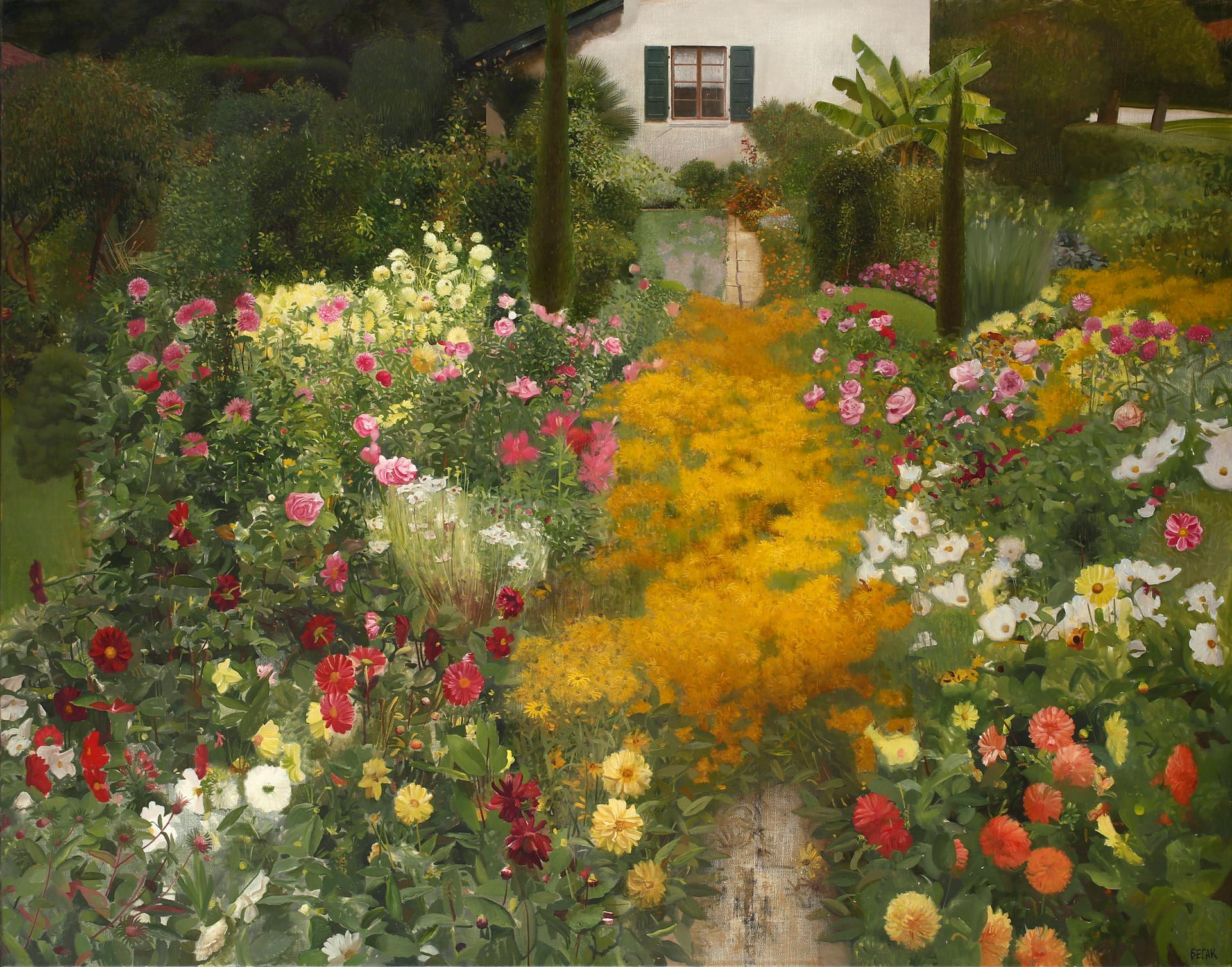 Garden in Annecy
