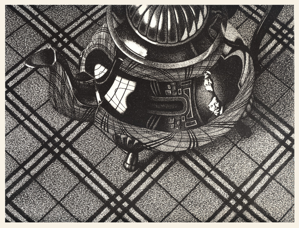 ink on paper  23x30 cm 1991