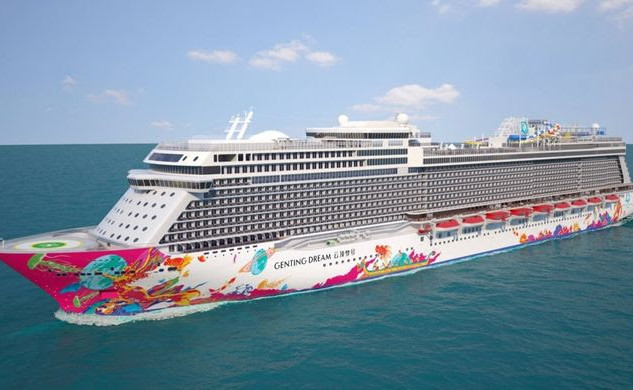 GENTING DREAM FLY & CRUISE - July 31 201