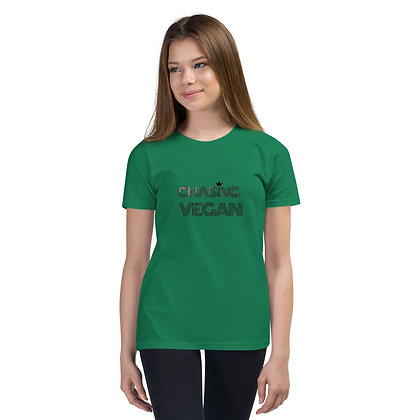 Official Chasing Vegan Youth Short Sleeve T-Shirt