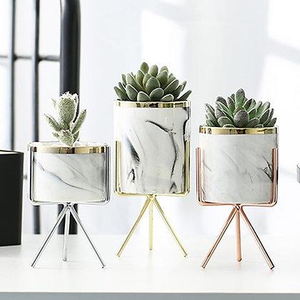Nordic Ceramic Desk Planters