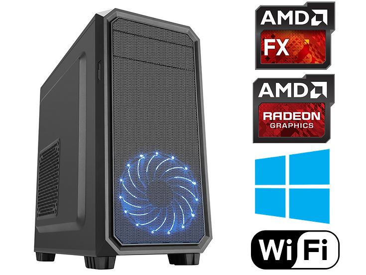 Viper Gaming PC FX 6300 6 Core 3.5GHz 8GB RAM 128GB SSD Windows 10