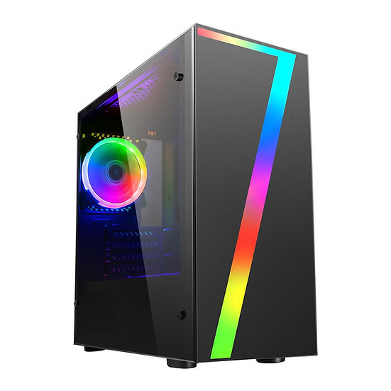 Vault 7 Gaming PC Ryzen RX550 Solid State Windows 10 Computer