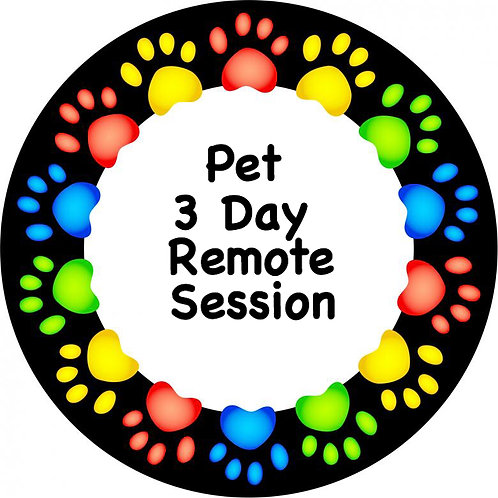 Pet 3 Day Remote Session