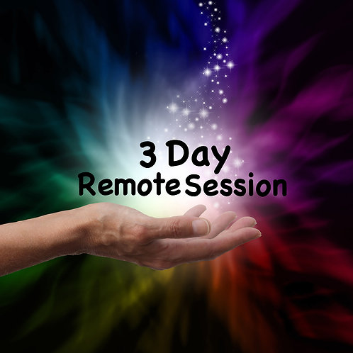 3 Day Intensive Remote Session
