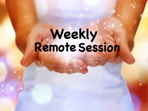 Remote Session (Weekly)