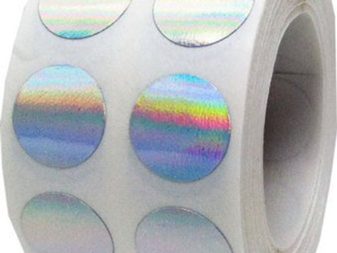 Holographic Discs Roll of 1,000