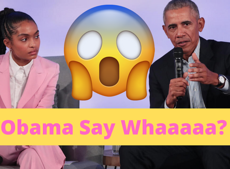 "Obama exposes delusions of activism and corrects self-righteous, ""woke,"" call-out culture! O_O"