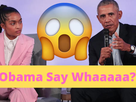 """Obama exposes delusions of activism and corrects self-righteous, """"woke,"""" call-out culture! O_O"""