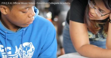 workshop at Columbus Collegiate Academy