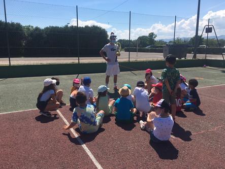 6 séances de tennis avec coach pour les CP-CM2