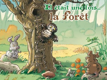 """Spectacle """"Il était une fois... la forêt"""" de Planète Mômes"""
