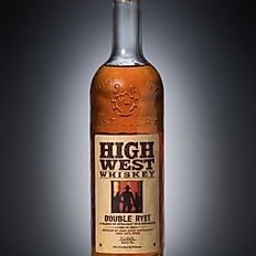 HIGH WEST DOUBLE RYE! WHISKEY