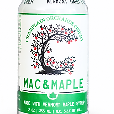CHAMPLAIN ORCHARDS CIDERY MAC & MAPLE CIDER