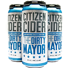 CITIZEN CIDER THE DIRTY MAYOR GINGER-INFUSED CIDER