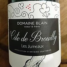 DOMAINE BLAIN COTE DE BROUILLY LES JUMEAUX 2014
