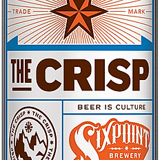 SIXPOINT BREWERY THE CRISP PILSNER
