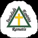 Logotipo da Ramatis. Um Triângulo e uma Cruz dentro de triângulo.