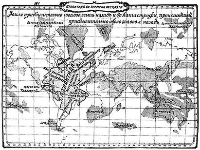 Mapa da Atlântida