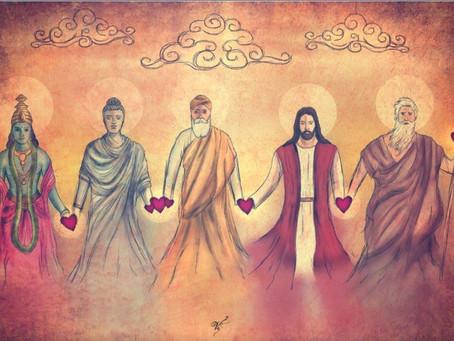 A RELIGIÃO UNIVERSAL E AS RELIGIÕES HUMANAS