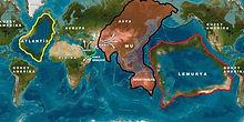 Coninentes Mu | Lemúria | Atlântida
