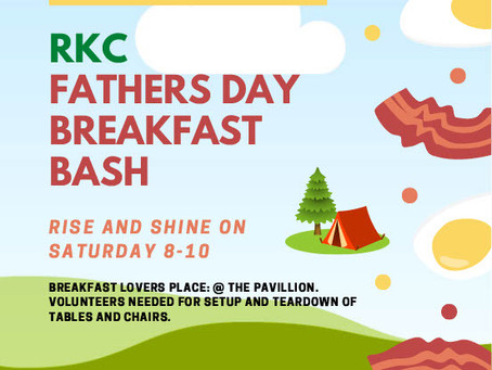 Fathers Day Breakfast Bash!