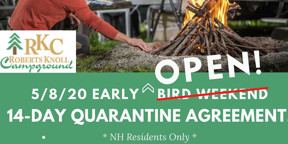 Early Soft Open ** NH Residents Only**