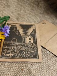 Potteries seed postcard