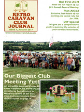 Retro Caravan Club Journal Autumn 2017