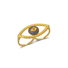 Tychon Evil Eye Ring